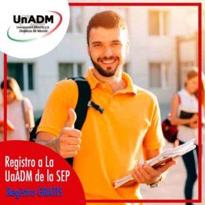 UnADM convocatoria en linea 2020