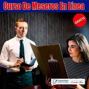Curso para mesero en México